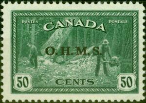 Canada 1949 50c Green SG0169 Very Fine MNH