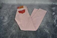Levis Mens 512 Slim Taper Colored Jeans Pink Warp Stretch Size 36W x 32L