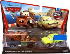 Disney Cars Cars 2 Mater with Spy Glasses & Acer Exclusive Diecast Car 2-Pack