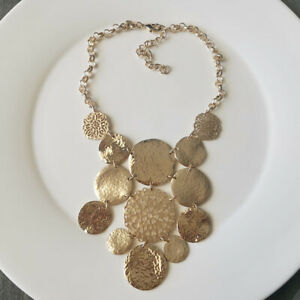 "New 16"" Chicos Bib Collar Statement Necklace Gift Fashion Women Party Jewelry"