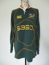 Vintage 90's South Africa Canterbury Rugby Sasol Jersey Mens, Size M