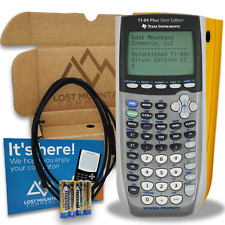 Ti-84 Plus Silver Edition Graphing Calculator by Texas Instruments - Yellow