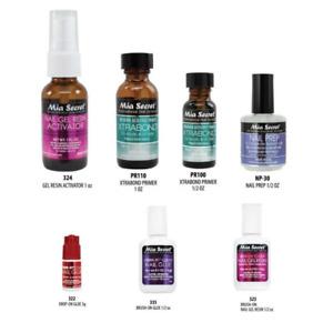Mia Secret Acrylic Nail Glue /Gel Resin /Activator /Xtrabond /Prep -You Pick