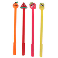 1 Piece kawaii fruit pen creative school office gel pens gift stationery SL