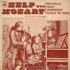 "GUY BOYER – Help... Mozart (4 BEATLES SONGS CLASSICAL/1965 VINYL EP 7"" FRANCE)"