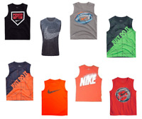 New Nike Toddler Boy's Sports Muscle Tee SIZE 4,5,6,7 MSRP:$20.00