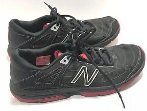 New Balance Womens 813 Running/Training Shoes Size 9.5 Black/Pink WX813WM