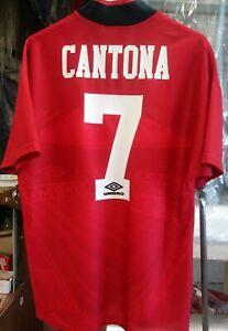 Original Official Umbro 1994 Manchester United Cantona Jersey Medium