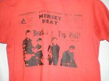 The Beatles T SHIRT Mersey Beat MEDIUM