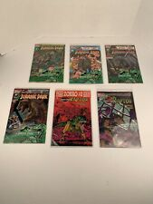 Topps Comics Jurassic Park Books 1-4 & Raptor Books 1-2, 1993, New in Package