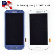 For Samsung Galaxy S3 i9300 i9305 LCD Display Digitizer Touch Screen Glass Frame