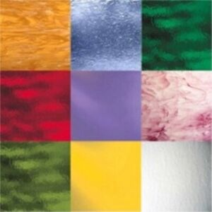 Spectrum by Oceanside Stained Glass Variety Pack - (6) Sheets 12x12