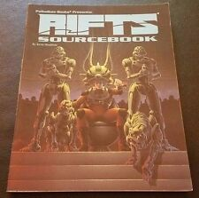 RIFTS SOURCEBOOK One 1995 Roleplaying Game Softcover Palladium Books 801 RPG NM