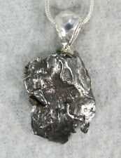 New listing Sikhote-Alin Iron Meteorite Pendant $69 Sterling Silver Jewelry Starborn Sa69-P3