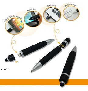 Multifunction OTG USB (8GB) Pen for Android Device and Computer