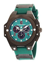 Chase-Durer Conquest Sport Chronograph Black & Green Dial Watch 00665-02