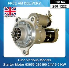 Starter Motor For Hino 03656020016 03656020017 03656020018 03656020190