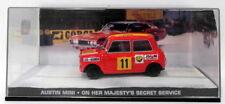 Corgi 1/43 Scale JB007 Austin Mini On Her Majestys Secret Service James Bond 007