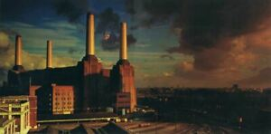 Poster Affiche Pink Floyd Animals Album Cover Rock 70's