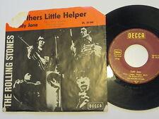 "Rolling Stones - Mothers Little Helper/Lady Jane  7""  German Decca Roter Balken"