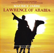 LAWRENCE OF ARABIA SCORE By Maurice Jarre (2-CD,2010-Tadlow) LIMITED EDITION