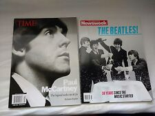 "Time Magazine ""Paul McCartney at 70"" + Newsweek ""The Beatles 50 Years"""