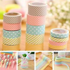 Washi Tape Cinta adhesiva de colores decoración de cinta adhesiva de artesanía