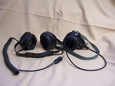 Motorola NMN6065A Behind the Head/Over the Mouth Headset noise cancelling pilot