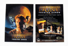 "2003 ""DUNE"" RITTENHOUSE PROMO TRADING CARD - NEW"
