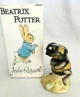 Vintage 1989 John Beswick Beatrice Potter Figurine BABBITTY BUMBLE Bee Figure