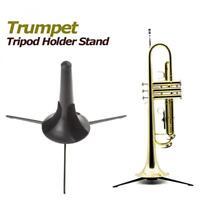Trumpet Tripod Holder Stand Detachable & Foldable Metal Leg