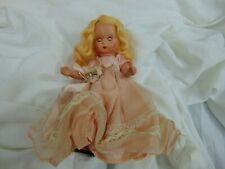 Storybook doll 1950s 6 inches Pink dress light