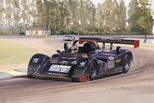 Joest Porsche Victory by Graham Turner Le Mans 1996 Reuter, Jones Alex Wurz