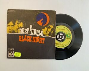 DEEP PURPLE - BLACK NIGHT / SPEED KING 45 GIRI VINILE