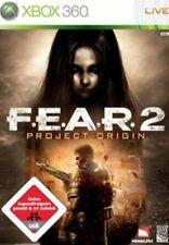 Xbox 360 FEAR 2 F.E.A.R. Horror Shooter *Sehr guter Zustand