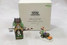 """Department 56 Heritage Village """"End Of The Line"""" #5637-0 Mint"""