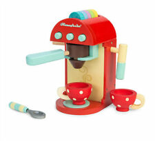CAFE MACHINE LE TOY VAN   TRADITIONAL  EDUCATIONAL WOODEN TOY GOOD ROLE PLAY