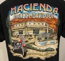 Harley-Davidson Mens Shirt Size L Scottsdale Az. Hacienda Black