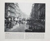 1896 London Aufdruck Mit Beschreibende Text Flotte Strasse