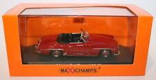 Véhicules miniatures rouge MINICHAMPS pour Mercedes