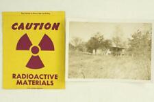 Vintage Lot Paper Orange Homestead Blacksburg Va Bomb Shelter Nuclear Sticker