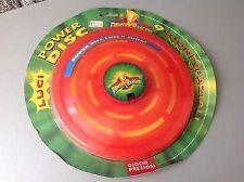 1995 Moc Power Disc Electronic Fresbee Power Rangers RED Vers.