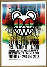 Stanley Donwood show Occupational Hazard Brighton show - A5 Radiohead artist