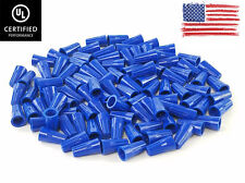 1000 Pcs Blue Twist On Wire Connectors Conical Nuts 22 14 Gauge Ul Certified