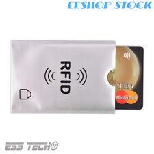Anti vol paiement sans contact RFID Protection Carte Bleu de crédit etui X2 PCS