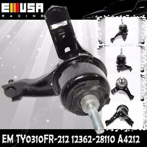 FRONT RIGHT Engine Mount for Toyota 04-06 Camry 3.0L/04-08 Solara A4212