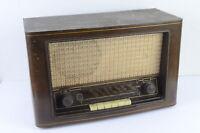 SABA Röhrenradio Modell unbekannt alt TIGGES Magnet Lautsprecher unkomplett
