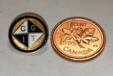 Canadian Girls In Training CGIT Non-Denominational Christian Alternat Pin Lapel