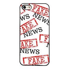 Fake News plastic phone Case Fits iPhone