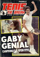 TENNIS GABRIELA SABATINI Champion US Open 1990 - Tenis Tie Break Magazine